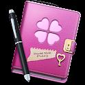 Secret Notes Diary Lock icon