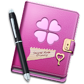 Secret Notes Diary Lock