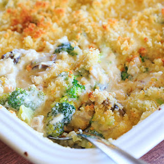 Cheesy Chicken, Broccoli & Rice Casserole (From Scratch!)