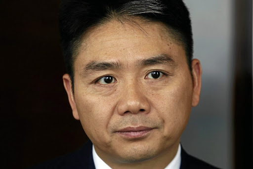 JD.com founder Richard Liu pictured at an interview in Hong Kong. Picture: REUTERS/BOBBY YIP