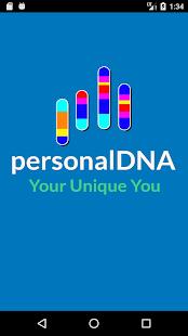 personalDNA - náhled