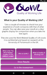 quality of working life and related