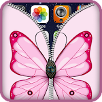 ButterFly Zipper Lock Screen Icon