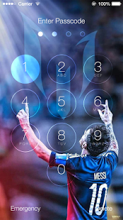 Lockscreen For Fc Barcelona Theme FCB - náhled