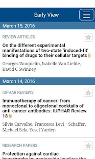 British Jnl of Pharmacology- screenshot thumbnail