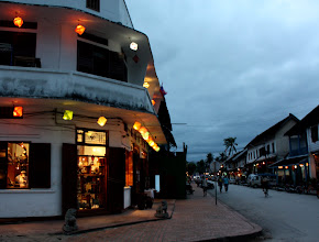 Photo: Day 260 - One of the Jewellery Shops on Sisavangvong Street  in Luang Prabang
