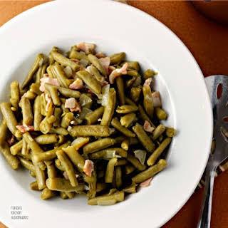 Cracker Barrel Copycat Country Style Green Beans.