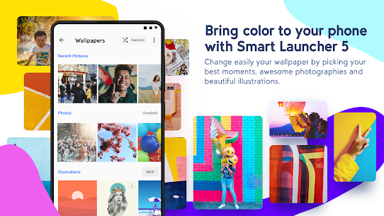 Smart Launcher 5 MOD Apk 5.4 (PRO UNLOCKED) 1