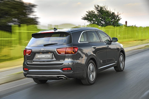 The Sorento SUV is dolled up with new bumpers and sleeker tail lamps.
