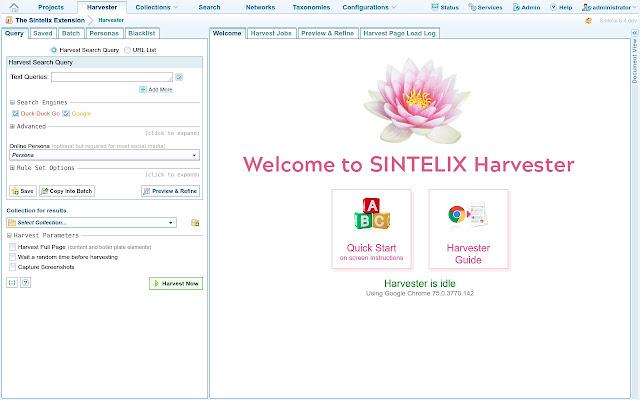 Sintelix Extension