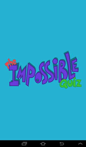 Impossible Quiz screenshot
