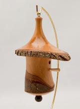 "Photo: Mike Twenty - Bird House Tree Ornament - 4"" x 5.5"" - Bradford Pear"