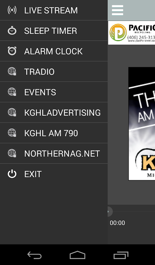 790 KGHL Now- screenshot