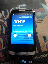 Photo: Huawei Ideos X3 turned on