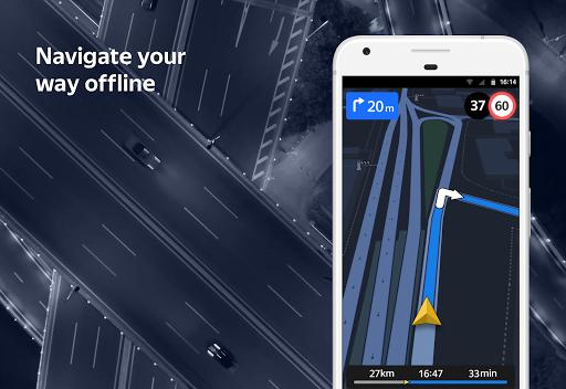 Yandex.Navigator screenshot 4