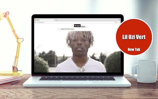 Lil Uzi Vert New Tab Theme