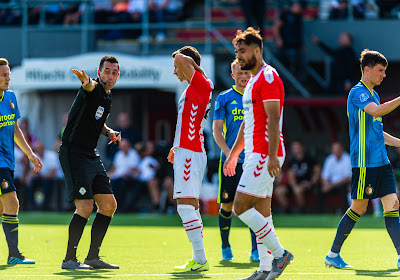 Mauvaise journée pour Michaël Heylen même si son équipe s'en sort plutôt bien contre Feyenoord !