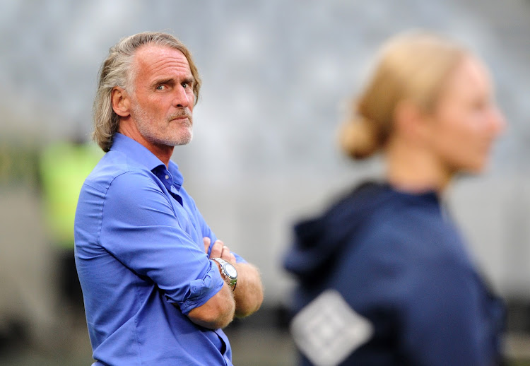 Johannes Olde Riekerink, head coach of Cape Town City.