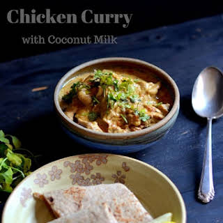 Slow Cooked Chicken Curry Coconut Milk Recipes.