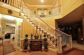 Photo: (After) Foyer Stairs