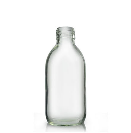 Glasflaska 200 ml - klar