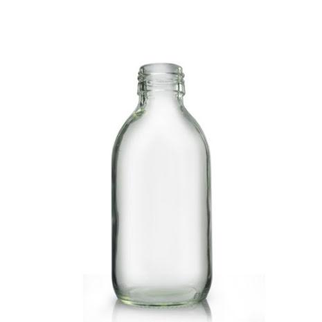 Glasflaska 200 ml - klar