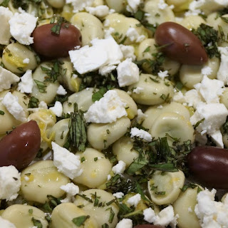Broad Bean and Feta Salad