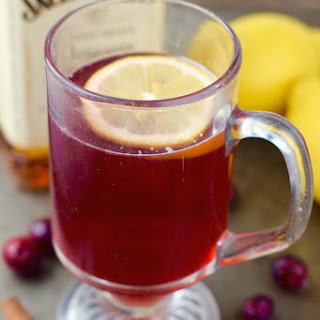 Cranberry Hot Toddy.