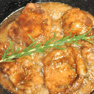 Balsamic Brown Sugar & Rosemary Pork Chops Recipe