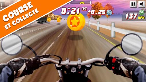 Highway Rider Extreme - Jeu de course de moto 3D  captures d'u00e9cran 1