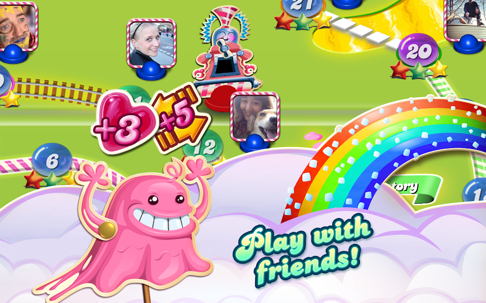 Candy Crush Saga Mod (Unlimited Lives) v1.55.1.0 APK