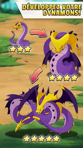 Puzzle & RPG Dynamons Evolution : Mythe du dragon  captures d'écran 2