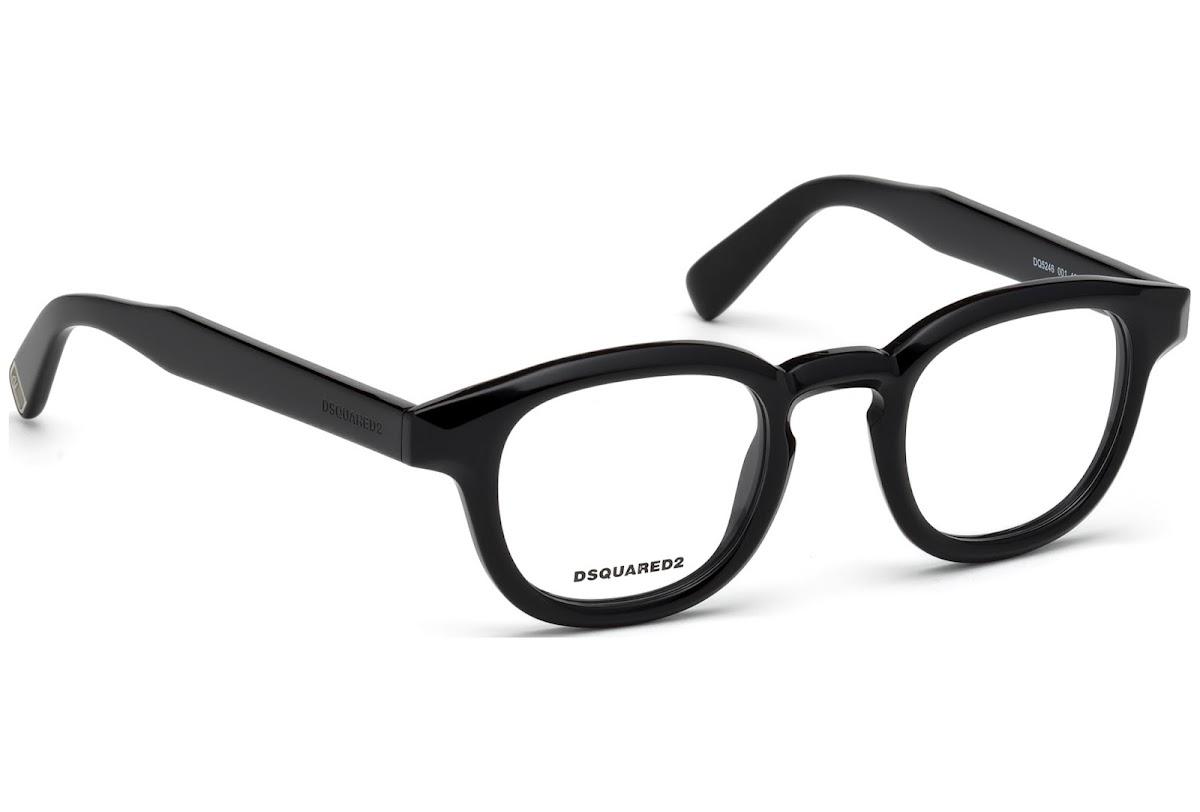 Dsquared2 Brille » DQ5246«, schwarz, 001 - schwarz