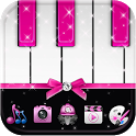 Pink Theme Pink piano icon