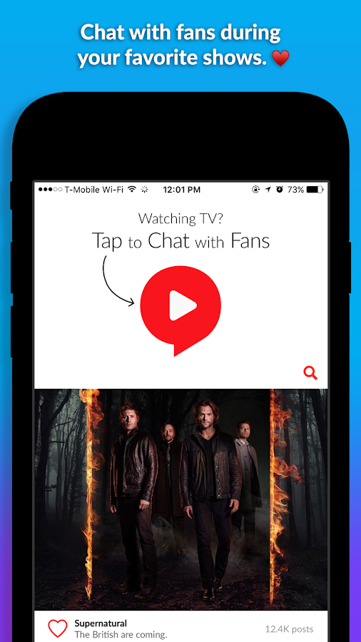 Showgo - Watch TV Together- screenshot