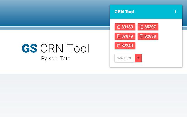 CRN Tool