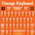 Orange Keyboard icon