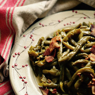 Crockpot Southern Green Beans with Bacon