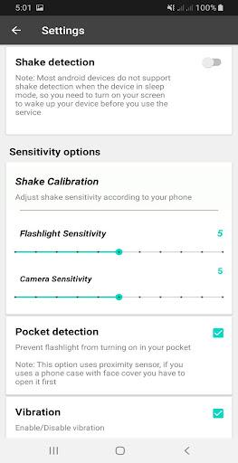 Shake Flashlight & Camera 1.0.14 screenshots 4
