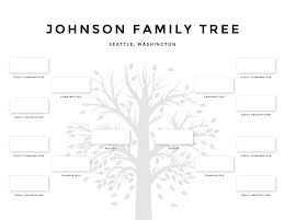 Johnson Family Tree - Family Tree item