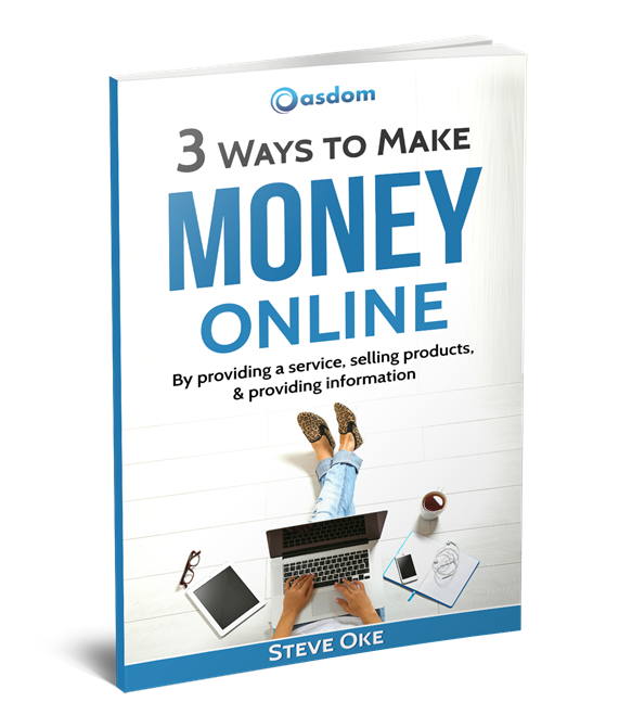 The In this super amazing guide from oasdom.com you'll understand the real truth behind making money online. We call it the 3 proven ways to make money online. These 3 proven ways are the building blocks on which every online income earner built their businesses. Understand these three ways and find out the best route that fits you