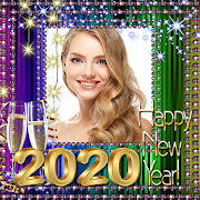 2020 New Year Photo Frames - New Year Wishes 2020