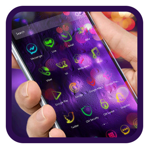 Colorful Neon Icon Packs
