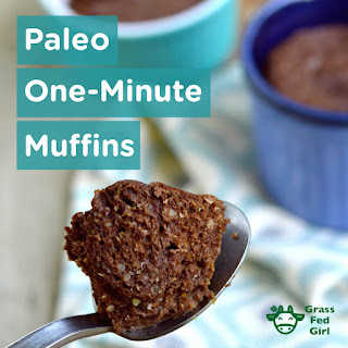 Quick Chocolate Low Carb Dessert Muffin.