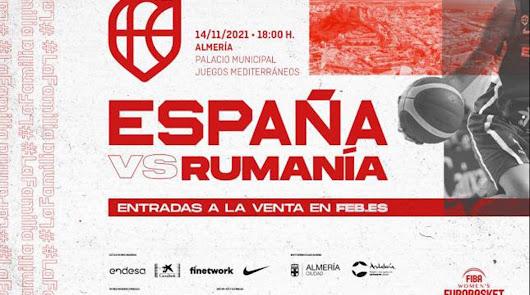 La Selección de Basket Femenina, en Almería