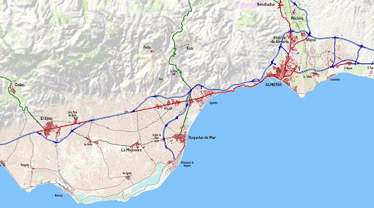Historias almerienses sobre el paisaje (VII): La región urbana Almería-Poniente