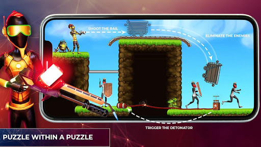 Mr Shooter Offline Game -Puzzle Adventure New Game android2mod screenshots 14