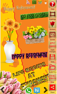 Retirement greeting cards apps on google play screenshot image m4hsunfo