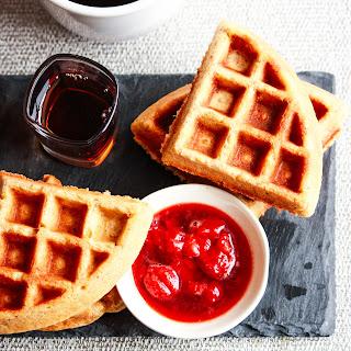 Nutty Multigrain Waffles Recipe