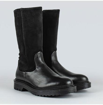 Sneaky Steve Deed suede boot black